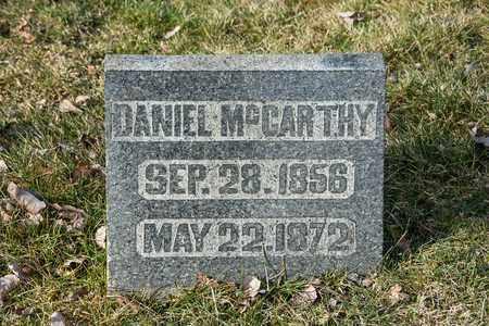 MCCARTHY, DANIEL - Richland County, Ohio | DANIEL MCCARTHY - Ohio Gravestone Photos