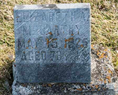 MCCARTHY, ELIZABETH A - Richland County, Ohio | ELIZABETH A MCCARTHY - Ohio Gravestone Photos