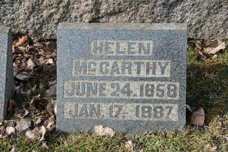 MCCARTHY, HELEN - Richland County, Ohio | HELEN MCCARTHY - Ohio Gravestone Photos