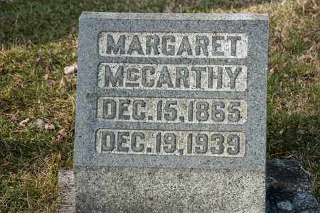 MCCARTHY, MARGARET - Richland County, Ohio | MARGARET MCCARTHY - Ohio Gravestone Photos
