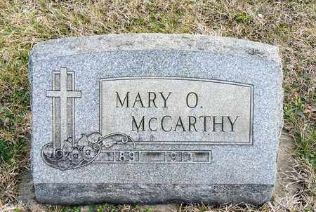 MCCARTHY, MARY O - Richland County, Ohio | MARY O MCCARTHY - Ohio Gravestone Photos
