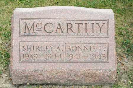 MCCARTHY, SHIRLEY A - Richland County, Ohio | SHIRLEY A MCCARTHY - Ohio Gravestone Photos