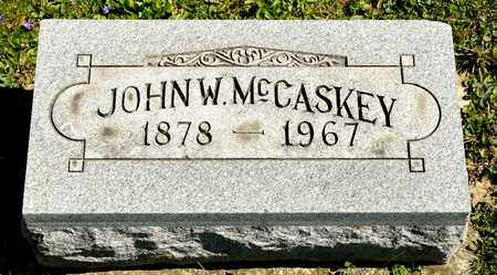 MCCASKEY, JOHN W - Richland County, Ohio | JOHN W MCCASKEY - Ohio Gravestone Photos