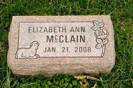 MCCLAIN, ELIZABETH ANN - Richland County, Ohio | ELIZABETH ANN MCCLAIN - Ohio Gravestone Photos