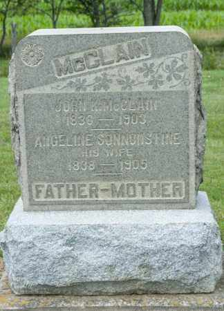 MCCLAIN, JOHN K - Richland County, Ohio | JOHN K MCCLAIN - Ohio Gravestone Photos
