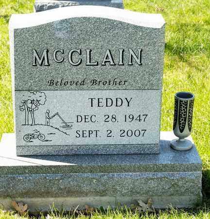 MCCLAIN, TEDDY - Richland County, Ohio | TEDDY MCCLAIN - Ohio Gravestone Photos