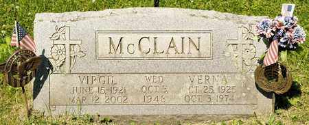 MCCLAIN, VERNA - Richland County, Ohio | VERNA MCCLAIN - Ohio Gravestone Photos