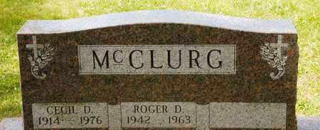 MCCLURG, CECIL D - Richland County, Ohio | CECIL D MCCLURG - Ohio Gravestone Photos