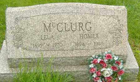 MCCLURG, HOMER LEE - Richland County, Ohio | HOMER LEE MCCLURG - Ohio Gravestone Photos
