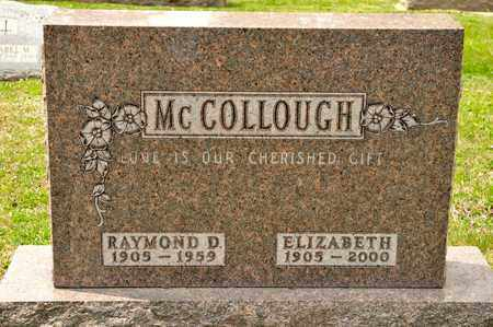 MCCOLLOUGH, RAYMOND D - Richland County, Ohio | RAYMOND D MCCOLLOUGH - Ohio Gravestone Photos