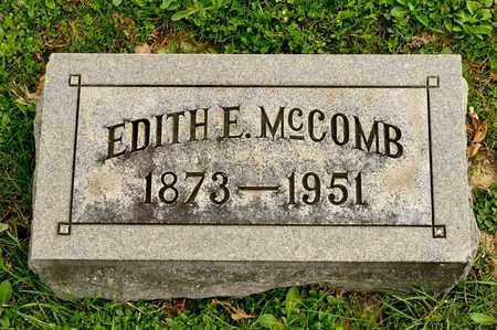 MCCOMB, EDITH E - Richland County, Ohio | EDITH E MCCOMB - Ohio Gravestone Photos