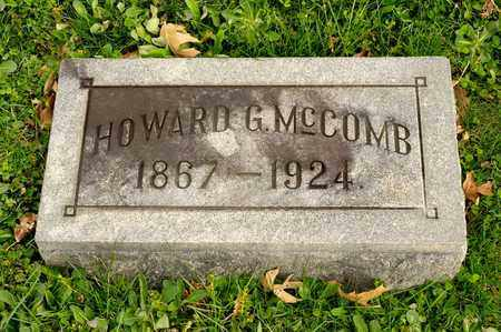 MCCOMB, HOWARD G - Richland County, Ohio | HOWARD G MCCOMB - Ohio Gravestone Photos
