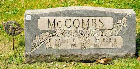 MCCOMBS, RALPH E - Richland County, Ohio | RALPH E MCCOMBS - Ohio Gravestone Photos