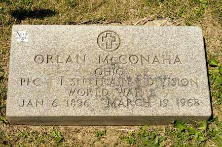 MCCONAHA, ORLAN - Richland County, Ohio | ORLAN MCCONAHA - Ohio Gravestone Photos