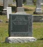 MCCONKLE, SARAH - Richland County, Ohio | SARAH MCCONKLE - Ohio Gravestone Photos