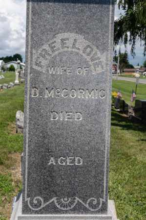 MCCORMIC, FREELOVE - Richland County, Ohio | FREELOVE MCCORMIC - Ohio Gravestone Photos