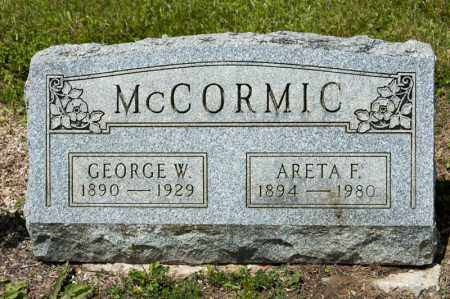 MCCORMIC, GEORGE W - Richland County, Ohio | GEORGE W MCCORMIC - Ohio Gravestone Photos