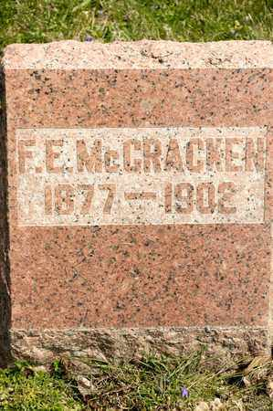 MCCRACKEN, F E - Richland County, Ohio | F E MCCRACKEN - Ohio Gravestone Photos