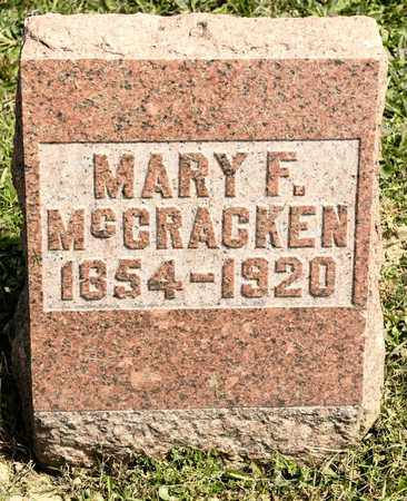 MCCRACKEN, MARY F - Richland County, Ohio | MARY F MCCRACKEN - Ohio Gravestone Photos