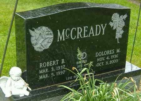 MCCREADY, ROBERT B. - Richland County, Ohio | ROBERT B. MCCREADY - Ohio Gravestone Photos