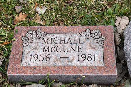 MCCUNE, MICHAEL - Richland County, Ohio | MICHAEL MCCUNE - Ohio Gravestone Photos