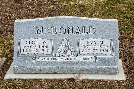 MCDONALD, CECIL W - Richland County, Ohio | CECIL W MCDONALD - Ohio Gravestone Photos