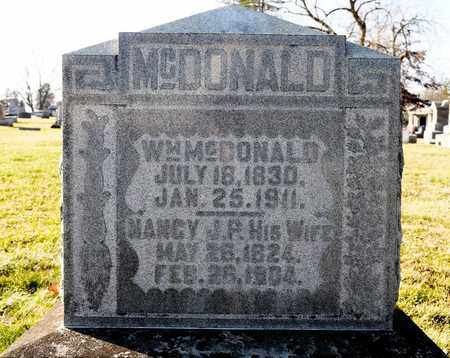 MCDONALD, WILLIAM - Richland County, Ohio | WILLIAM MCDONALD - Ohio Gravestone Photos