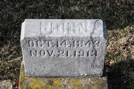 MCELLIGOTT, JOHN - Richland County, Ohio | JOHN MCELLIGOTT - Ohio Gravestone Photos
