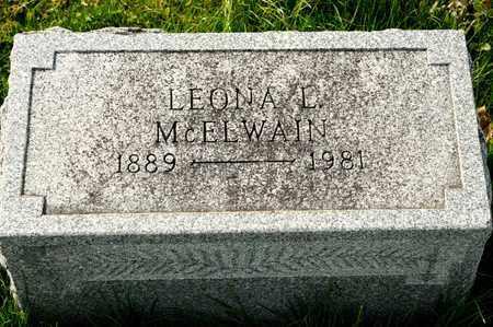 MCELWAIN, LEONA L - Richland County, Ohio | LEONA L MCELWAIN - Ohio Gravestone Photos