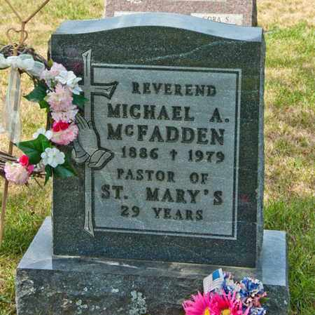 MCFADDEN, MICHAEL A - Richland County, Ohio | MICHAEL A MCFADDEN - Ohio Gravestone Photos