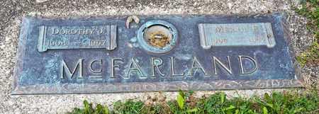 MCFARLAND, MERRIL F - Richland County, Ohio | MERRIL F MCFARLAND - Ohio Gravestone Photos