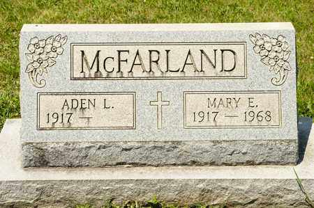 MCFARLAND, MARY E - Richland County, Ohio | MARY E MCFARLAND - Ohio Gravestone Photos