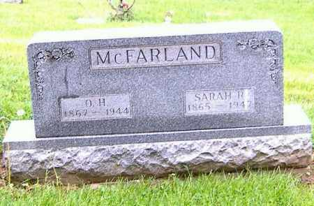 MCFARLAND, SARAH R. - Richland County, Ohio | SARAH R. MCFARLAND - Ohio Gravestone Photos