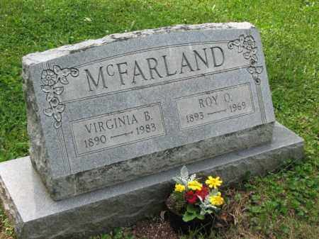 MCFARLAND, ROY O. - Richland County, Ohio | ROY O. MCFARLAND - Ohio Gravestone Photos