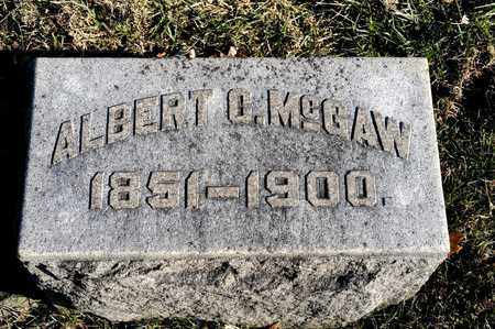MCGAW, ALBERT C - Richland County, Ohio | ALBERT C MCGAW - Ohio Gravestone Photos