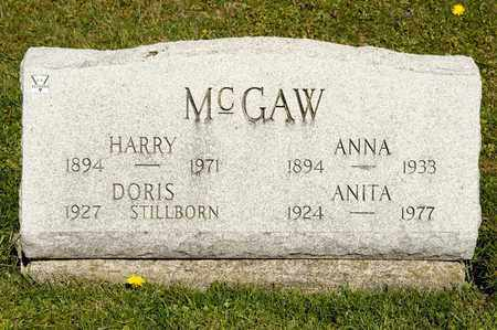 MCGAW, ANITA - Richland County, Ohio | ANITA MCGAW - Ohio Gravestone Photos