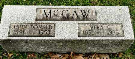 MCGAW, JOHN DONALD - Richland County, Ohio | JOHN DONALD MCGAW - Ohio Gravestone Photos