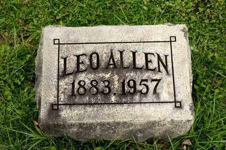 MCGAW, LEO ALLEN - Richland County, Ohio | LEO ALLEN MCGAW - Ohio Gravestone Photos