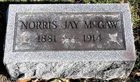 MCGAW, NORRIS JAY - Richland County, Ohio | NORRIS JAY MCGAW - Ohio Gravestone Photos