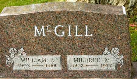 MCGILL, MILDRED M - Richland County, Ohio | MILDRED M MCGILL - Ohio Gravestone Photos