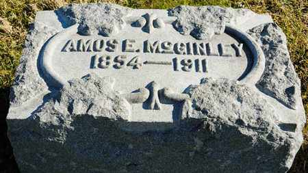 MCGINLEY, AMOS E - Richland County, Ohio | AMOS E MCGINLEY - Ohio Gravestone Photos