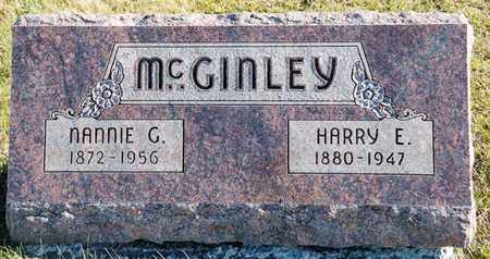 MCGINLEY, NANNIE G - Richland County, Ohio | NANNIE G MCGINLEY - Ohio Gravestone Photos
