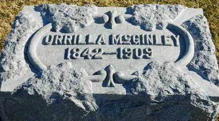 MCGINLEY, ORRILLA - Richland County, Ohio | ORRILLA MCGINLEY - Ohio Gravestone Photos