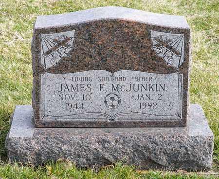 MCJUNKIN, JAMES E - Richland County, Ohio | JAMES E MCJUNKIN - Ohio Gravestone Photos