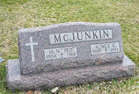MCJUNKIN, M N - Richland County, Ohio | M N MCJUNKIN - Ohio Gravestone Photos