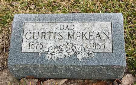 MCKEAN, CURTIS - Richland County, Ohio | CURTIS MCKEAN - Ohio Gravestone Photos