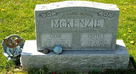 TACKETT MCKENZIE, EDITH I - Richland County, Ohio | EDITH I TACKETT MCKENZIE - Ohio Gravestone Photos