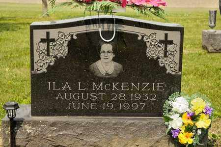 MCKENZIE, ILA L - Richland County, Ohio | ILA L MCKENZIE - Ohio Gravestone Photos