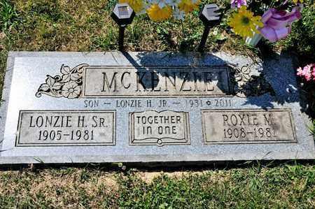 MCKENZIE SR, LONZIE H - Richland County, Ohio | LONZIE H MCKENZIE SR - Ohio Gravestone Photos