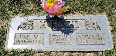 MCKENZIE, VIRGIE C - Richland County, Ohio | VIRGIE C MCKENZIE - Ohio Gravestone Photos